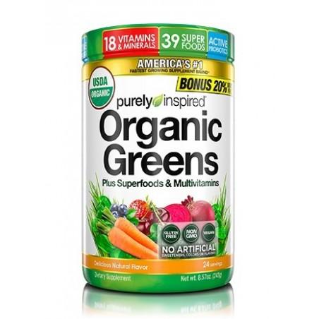 Organic Greens Plus Superfoods & Multivitamins
